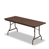Iceberg Economy Wood Laminate Folding Table, 72w x 30d,