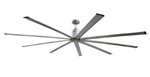 "Ventamatic Maxx Air 96"" Industrial Ceiling Fan, 9 Blades, 6 Speed Reversible DC Motor # ICF96"