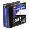 Find It Gapless Loop Ring View Binder, 11 x 8-1/2, 5in