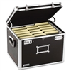 IdeaStream Vaultz Locking File Chest, Ltr/Lgl, Aluminum