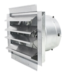 "Ventamatic Cool Attic 14"" Heavy Duty ExhaustæFanæwithæIntegratedæShutter, 1400 CFM # IF14"