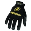 Ironclad General Utility Spandex Gloves, 1 Pair, Black,