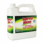 Spray Nine Heavy Duty Cleaner/Degreaser/Disinfectant, 1gal,  Bottle, 4/Carton,  ITW268014CT