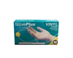 AMMEX GlovePlus Vinyl Powdered Gloves IV4 (100gloves/10boxes)