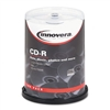 Innovera CD-R Discs w/Printable Surface, 700MB/80min, 5