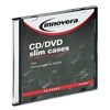 Innovera Slim CD Cases, Clear, 50 Cases/Pack # IVR85826
