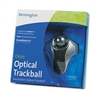 Kensington Optical Orbit Trackball Mouse, Two-Button, B
