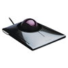 Kensington SlimBlade Trackball, Graphite w/Ruby Red Tra