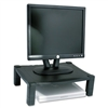 Kantek Single Level Height-Adjustable Stand, 17w x 13 1