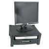 Kantek Two-Level Stand, Removable Drawer, 17w x 13 1/4d