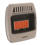 kozy world gas heaters, vent free heater