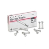 Charles Leonard, Inc. Post Binder Aluminum Screw Posts,