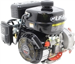 LIFAN LF160F-AHQ Engine 4 HP Horizontal Shaft Recoil Start Engine w/6:1 gear reduction