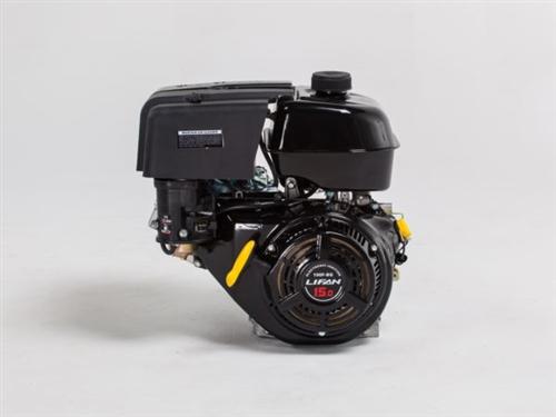 Lifan 15 MHP, 4-Stroke, Gasoline, Recoil Start, Horizontal Shaft Industrial  Engine LF190F-BQ