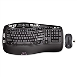 Logitech® MK550 Wireless Desktop Set, Keyboard/Mouse, USB, Black # LOG920002555