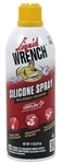 GUNK Liquid Wrench Silicone Spray 11oz, Case/12, # M914