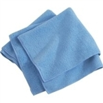 Microfiber Cleaning Cloths, Blue, 16x16, Pack of 180