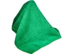 Microfiber Cleaning Cloths, Green, 16x16, Pack of 60