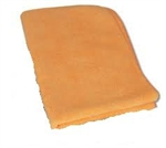 Microfiber Terry Cleaning Cloths 16x16 Orange- Pack of 48