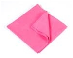 Microfiber Terry Cleaning Cloths 16x16 Pink- Pack of 48