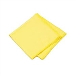 Microfiber Glass Cleaning Cloths Gold 16x16- Pack of 48