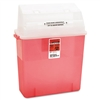Medline Sharps Container for Patient Room, Plastic, 3 g