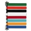 Medline Room ID Flag System, 8 Flags, Pastel Colors # M