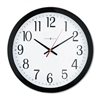 Howard Miller Gallery Wall Clock, 16in, Black # MIL6251