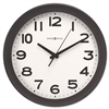 Howard Miller Kenwick Wall Clock, 13-1/2in, Black # MIL