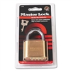 Master Lock Resettable Combination Padlock, 2 wide, Br