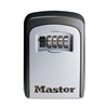 Master Lock Locking Combination 5-Key Steel Box, 3-7/8w