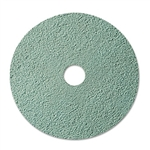 3M Burnish Floor Pad 3100, 20, Aqua, 5 Pads/Carton # MMM08753