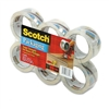 Scotch 3500 Packaging Tape, 2 x 55 yards, 3 Core, Cle