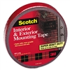 Scotch Exterior Weather-Resistant Double-Sided Tape, 1