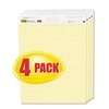 Post-it Self-Stick Easel Pads, Ruled, 25 x 30, Yellow,