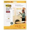 Post-it Self-Stick Wall Easel Pad, Blank, 20 x 23, Whit
