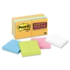 Post-it Super Sticky Super Sticky Notes, 3 x 3, Five Ne