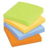 Post-it Nature's Hues Super Sticky Notes, Unlined, 3 x