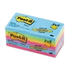 Post-it Ultra Color Notes, 3 x 3, Five Colors, 14 100-S