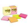 Post-it Note Pad Assortment, 3 x 3, 7 Canary Yellow & 7