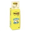 Post-it Cabinet Pack, 3 x 3, Canary Yellow, 18 90-Sheet