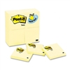 Post-it 3 x 3, Canary Yellow, 24 90-Sheet Pads/Pack # M