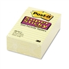 Post-it Super Sticky Notes, 4 x 6, Canary Yellow, 5 90-
