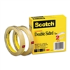 Scotch 665 Double-Sided Tape, 1/2 x 1296, 3 core, Tr