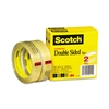 Scotch 665 Double-Sided Tape, 3/4 x 1296, 3 core, Tr