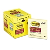 Post-it Super Sticky Notes, 4 x 4, Canary Yellow, 12 90