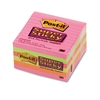Post-it Super Sticky Super Sticky Notes, 4 x 4, Five Co
