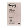 Post-it Flags in Dispensers, Sign Here, YW/Red, 12 50
