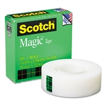 Scotch Magic Office Tape, 3/4 x 1296, 1 Core, Clear