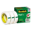 Scotch Magic Tape, 1 x 2592, 3 Core, 3 Rolls # MMM81